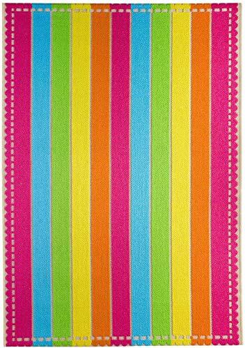 Luxor Living 721341 Teppich Samba, 133 x 190 cm, Stripe Samba Stripe