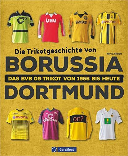 Die Trikotgeschichte von Borussia Dortmund. Das BVB-Fußballtrikot von 1956 bis heute. Alles über Trikotwerbung, Sammlerstücke und Kultobjekte.