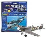 Revell 64164 - Modellino Set Spitfire Mk.V, scala 1:72 [Importato da Germania]