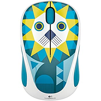 Logitech M238 kabellose Maus Play Collection (Lion)