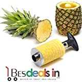Electronic Stainless Steel Fruit Pineapple Corer Slicer Peeler Kitchen Cutter Knife-1Pc