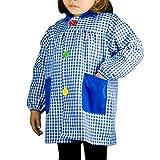 KLOTTZ 4887-901B-AZUL-4 - BABI CUADROS GUARDERIA niños color: AZUL talla: 4
