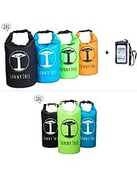 Funny Tree® Dry Bag. Wasserfester (IPx6) Premium Packsack 10 Liter / 20 Liter. Idealer Begleiter beim SUP, Tauchen, Kajak, Kanu, Schwimmen, Strand, Bootfahren, Camping
