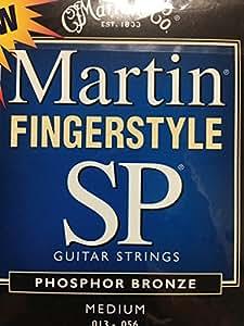 Martin SP 92/8-Phosphor Wound cordes pour guitare acoustique-) (.013 .056 moyenne tension