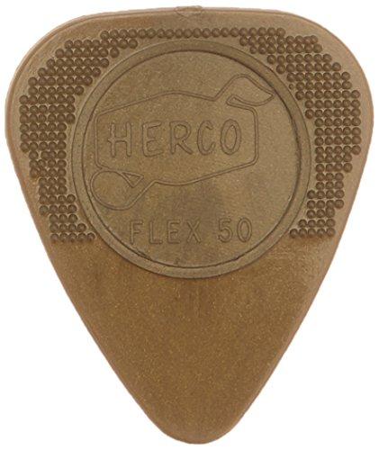 Jim Dunlop Flex50 Gitarrenplektrum, Medium, 12 Stück