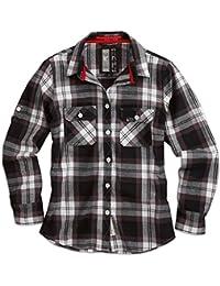 "Surplus Raw Vintage Holzfäller Hemd ""Ladies Lumberjack Shirt"", Größe: XL, Farbe: Schwarz"