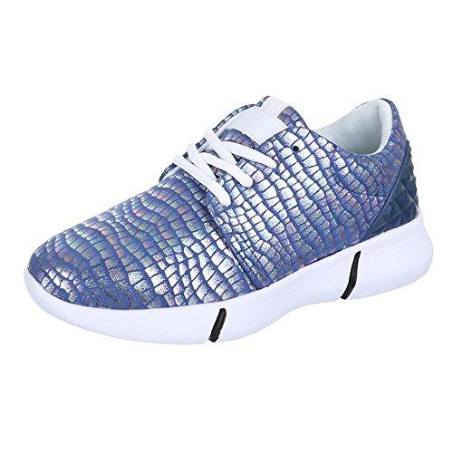 Chaussures pour femme,–L103Chaussures Casual Chaussures pour Homme Tendance Bleu - Bleu