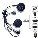 Freedconn Tech Accessori microfono altoparlante auricolare cavo del disco per il motociclo del casco Bluetooth Interphone Cuffie Intercom per BT citofono citofono