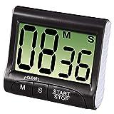 Demarkt Digitale kookwekker countdown extra groot display sterke magneethouder en intrekbare houder
