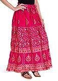 Ooltah Chashma Women's Cotton Skirt (SKR...