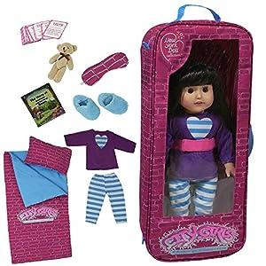 The New York Doll Collection Juego de Ropa de Cama con 9 Accesorios para muñecas de 18 Pulgadas, Multicolor (G115)