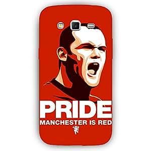EYP Manchester United Rooney Back Cover Case for Samsung Grand 2 (7106)