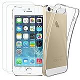 iPhone 5S/SE [ 2x Schutzfolie und 1 Hülle Case ], Kany