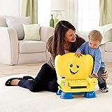 Fisher-Price Laugh & Learn Kinderstuhl, Smart-Stages-Technologie für den Lernspaß, Gelb