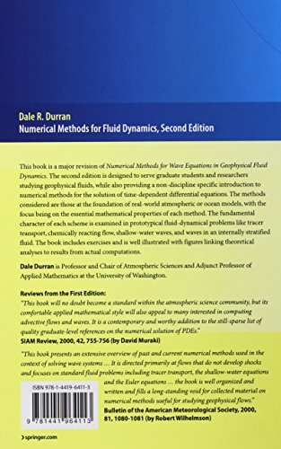 Numerical Methods for Fluid Dynamics: With Applications to Geophysics (Texts in Applied Mathematics)