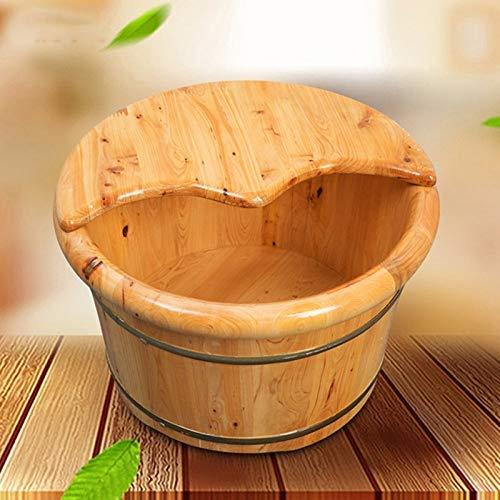Sgfccyl Baignoire Pieds, Baignoire Baril Bain en Bois de cèdre Pied pédiluve Adulte Spa de Massage de Fumigation