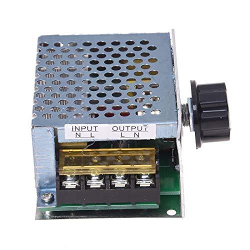 Spannungsregulator-Dimmer-Geschwindigkeits-Temperatur-Spannungsregler-Regler-hohe Leistung 4000W -