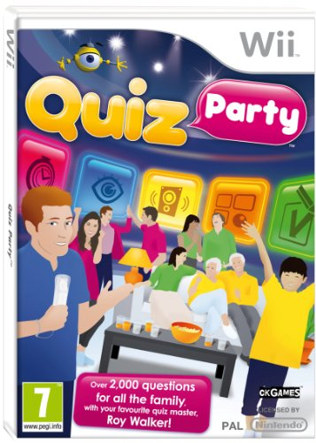 NEW & SEALED! Quiz Party Nintendo Wii Game UK PAL