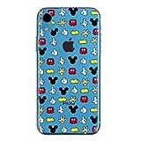 iPhone XR Couverture Coque Cover TPU Gel Transparent, Doux, Garde, Protecteur, Disney...