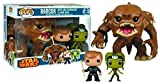 Pop Star Wars Rancor with Luke and Slave Oola Vinyl Figure 3-Pack