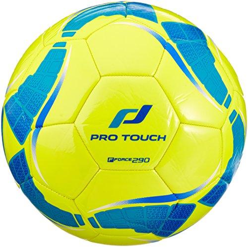 Pro Touch Fußball Force 290 Lite Größe 5 Gelb/Türkis/Blau, 5 -