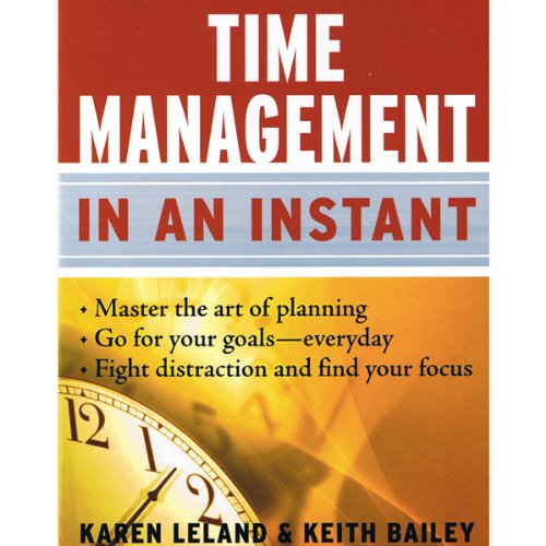 Time Management in an Instant  Audiolibri
