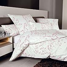 c3c02a1ff9 Janine Design Interlock Feinjersey Bettwäsche Carmen 53044-01 rosa Silber  Kissenbezug einzeln 40x80 cm