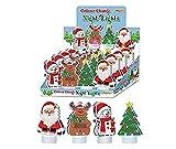 Stelle deinen Kinder Spielzeug Adventskalender selber zusammen Spielsachen Mädchen Junge einzelne kleine Spielware Paket (Nachtlicht)