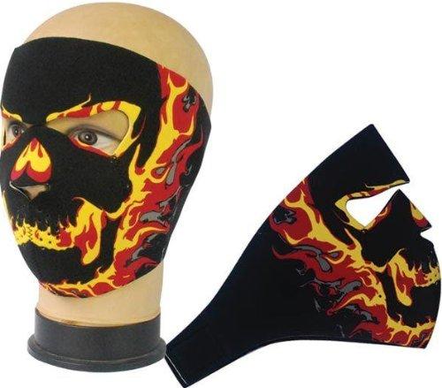 topt bandana Maske Sturmhaube Tribal Halsumfang Neopren Airsoft Paintball Ski Snow Quad Moto