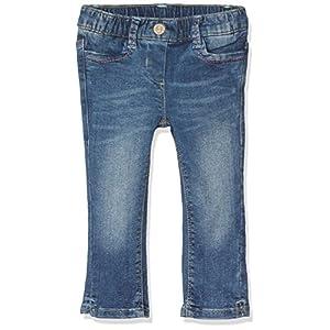 TOM TAILOR Kids Authentic Wash Ankle Denim, Jeans Bambina, Blu (Stone Blue Denim 1095), 128