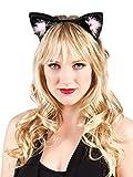 Boland 52332 - Haarreif Katze, Kunstleder, Einheitsgröße, mehrfarbig