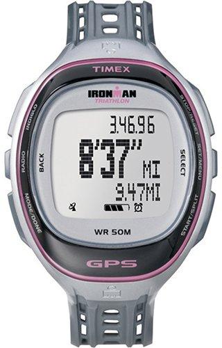 Timex Damen-Armbanduhr XL Ironman Rund Trainer Digital Quarz Plastik T5K629 (Ironman Timex Trainer)