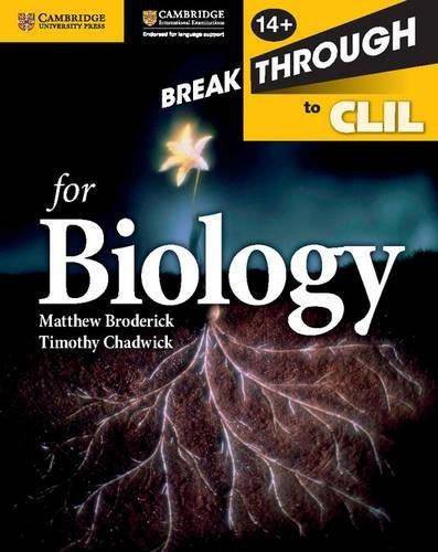 Breakthrough to CLIL. Biology Workbook