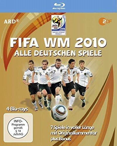 FIFA WM 2010 - Alle deutschen Spiele (4 Blu-ray Box) - Uruguay Wm
