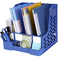 TOROTON 4 Ranuras Estantería para Documentos Correo Organizador Archivador Plástico