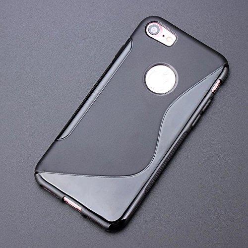 Apple iPhone 6 TPU Gel Case - Blau Apple iPhone 6 Tasche Flip Case Leder Cover Schutz Hülle Etui Schale - thinkmobile S-Line Blau