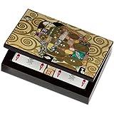 "Dal Negro 80119 - Portacarte Klimt ""L'Abbraccio"""