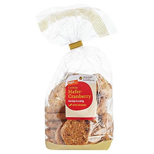 Tegut Cookies Hafer-Cranberry, 200 g