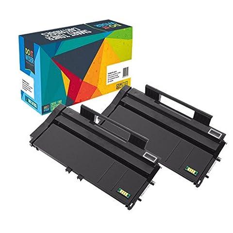 Do it Wiser Cartouche de Toner compatible pour Ricoh Aficio SP100e SP100 SP100SU 100SF SP112 SP 112SU 112SF 2-Pack