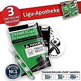 FC Hannover 96 Kapuzen-Pullover ist jetzt die Liga-APOTHEKE für H98 Fans by Ligakakao.de Herren Hoody fußball Fan Fleece Sweatshirt grün-weiß