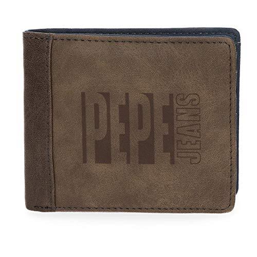 Cartera billetero de Pepe Jeans polipiel.