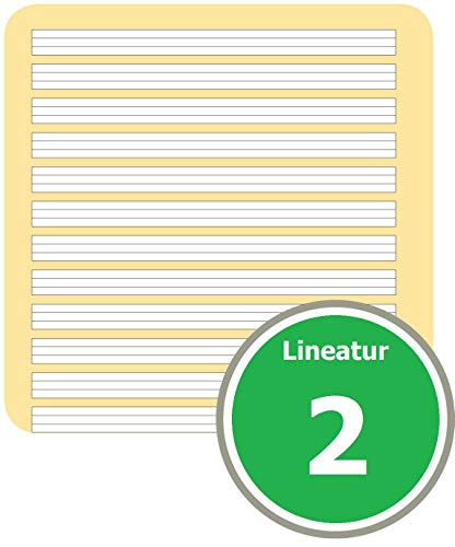 LANDRE 100050068 Schulheft 10er Pack A5 16 Blatt Lineatur 2 - für die 2. Klasse 3 Motive sortiert - 6