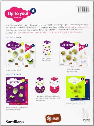 Up To You 4 Activity Book