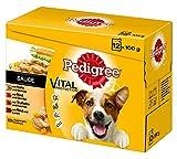 Pedigree Hundefutter in Sauce, 48 Beutel (4 x 12 x 100 g) - 2