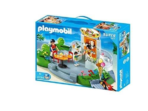 PLAYMOBIL City Life Superset Ice Cream Shop \'s 4134Miniatur-Modell