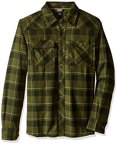 outdoor-research-feedback-flannel-shirt-color-verde-talla-l