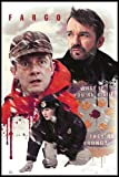 Close Up Fargo TV-Serie Poster Collage (93x62 cm) gerahmt in: Rahmen schwarz