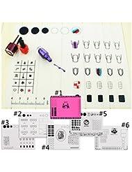 Born Pretty 1x coussin coloré en silicone pour manucure et nail art