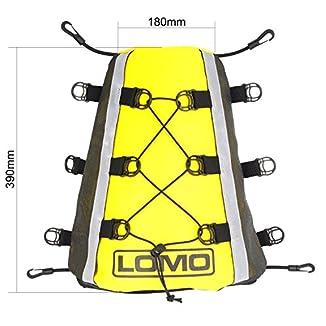 Lomo Kayak cubierta bolsa delantera