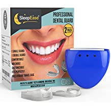 Férulas Dentales SleepEase® ¡DETENGA ESE RECHINAMIENTO DE DIENTES AHORA! – 2 Protectores Bucales Diferentes, Científicamente Diseñados para Prevenir el Rechinamiento de Dientes, Bruxismo y Ronquidos